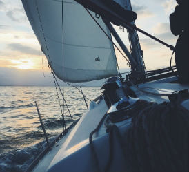 Sailingboat, passion